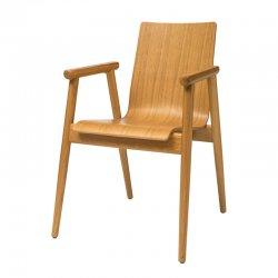 כורסא פיבי מושב עץ