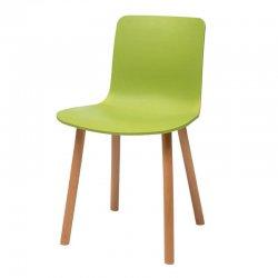 כסא רומאו רגל עץ