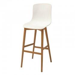 כסא בר יונתן רגל קונוס מעץ