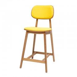 כסא בר לולה מרופד
