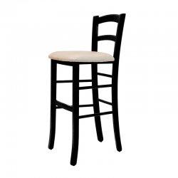 כסא בר קאנטרי מרופד