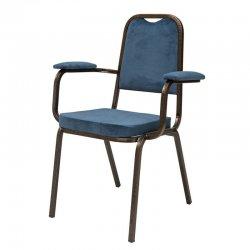 כסא הילטון עם ידיות