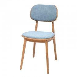 כסא לולה מרופד במושב ובגב
