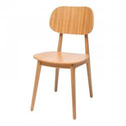 כסא לולה מושב עץ