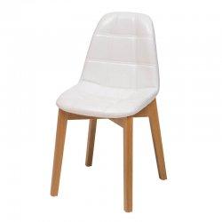 כסא נועם רגל עץ