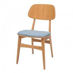 כסא עמית מושב מרופד